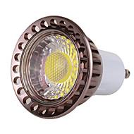 7W GU10 LED Spot Işıkları MR16 1 led COB Kısılabilir Dekorotif Sıcak Beyaz Serin Beyaz 500-600lm 2800-3200/6000-6500K AC 220-240 AC