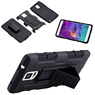 For Samsung Galaxy Note Stødsikker Med stativ Etui Bagcover Etui Armeret PC for Samsung Note 5 Note 4 Note 3