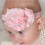 tanie Akcesoria dla dzieci-Akcesoria do włosów - Dla dziewczynek Dla chłopców - Na każdy sezon - Nylon Inne Satyna - Opaski na głowę - Różowy