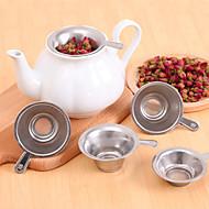 5pcs / מרווחי נירוסטה הרבה רשת פלדת מפזר מסנן תה מסננת קפה התה לסנן 6.2x2.2cm כוס הפנימית
