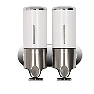 cheap Stainless Steel Series-Soap Dispenser Contemporary Stainless Steel + Plastic 1 pc - Hotel bath
