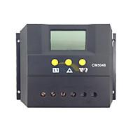 50a 48v PWM bateria painel solar regulador de carga controlador de lcd
