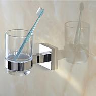 Suporte para Escova de Dentes / Espelhado Aço Inoxidável /Contemporâneo