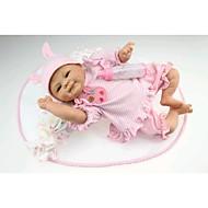 NPK DOLL Autentične bebe Beba 18 inch Silikon Vinil - novorođenče vjeran Sladak Hand Made Sigurno za djecu Non Toxic Dječjom Djevojčice Igračke za kućne ljubimce Poklon / Lijep / CE / Floppy Head