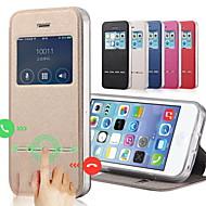 Para iPhone 8 iPhone 8 Plus iPhone 7 iPhone 7 Plus iPhone 6 iPhone 6 Plus Capinha iPhone 5 Case Tampa Com Suporte com Visor Flip Corpo