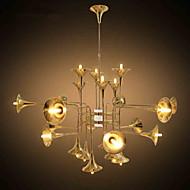 billige Takbelysning og vifter-5 Lysekroner ,  Tiffany / Rustikk galvanisert Trekk for Mini Stil Metall Stue / Soverom / Spisestue / Spillerom