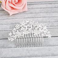 Rhinsten Hair Combs med 1 Bryllup / Speciel Lejlighed / Afslappet Medaljon