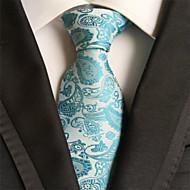 halpa -miesten juhla / ilta häät paisley jacquard kudottu solmuke solmio