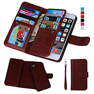 cheap -Case For Apple iPhone 8 iPhone 8 Plus iPhone 5 Case iPhone 6 iPhone 6 Plus iPhone 7 Plus iPhone 7 Card Holder Wallet with Windows Flip