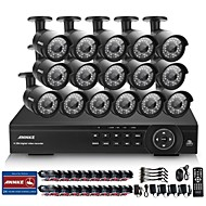 cheap DVR Kits-Annke® 16CH 1080P HD Indoor Outdoor IR Home CCTV Security Camera System DVR HDMI