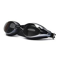 Swimming Goggles Anti-Fog Adjustable Size Anti-UV Polarized Lense Waterproof Silica Gel PC White Gray Black Transparent Pink Gray Black