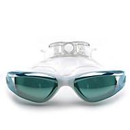 billiga Swim Goggles-Simglasögon Vattentät / Anti-Dimma / Justerbar storlek Kiselgel PC Rosa / Svart / Blå Rosa / Svart / Blå