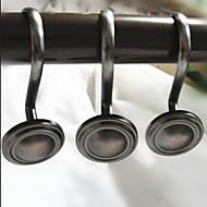 シャワーカーテン用フック亜鉛合金-3.15×1.45 inch
