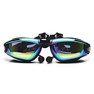 משקפי שחייה נגד ערפל גודל מתכוונן אנטי-UV עמיד למים סיליקה ג'ל PC לבן אפור שחור Others שקוף ורוד אפור שחור כחול כחול בהיר כתום