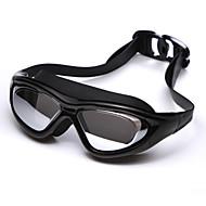 YUKE משקפי שחייה לנשים / לגברים / יוניסקס נגד ערפל / עמיד למים / גודל מתכוונן / אנטי-UV / לנפץ הוכחה / לקוצר ראייה סיליקה ג'ל PCאדום /