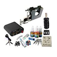 basekey tattoo kit jh559 en roterende maskin med strømforsyning grep 3x10 ml blekk