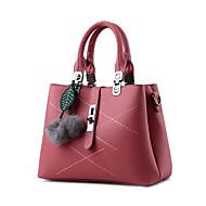 tanie Torby tote-Dla kobiet Poliwęglan Formalna Na co dzień Biuro i biznes Zakupy Torba na ramię Tote Różowy Wine Light Blue Dark Pink Jasnoszary