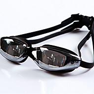 billiga Swim Goggles-YUKE Simglasögon Dam / Herr / Unisex Anti-Dimma / Vattentät / Justerbar storlek / Anti-UV / För närsynthet Silica Gel PCVit / Rosa /