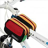 ROSWHEEL® Sykkelveske 5LLVesker til sykkelramme Vanntett Regn-sikker Støtsikker Anvendelig Sykkelveske Nylon Vanntett Materiale Terylene