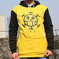 Inspirirana One Piece Trafalgar Law Anime Cosplay nošnje cosplay Hoodies Print Kolaž Dugih rukava Top More Accessories Za Muškarci Žene
