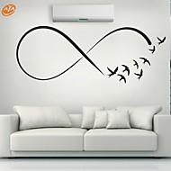 Dyr / Romantik / Fashion / Former / abstrakt Wall Stickers Fly vægklistermærker,PVC S:23*61cm/ M:31*84cm / L:45*117cm