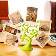 créatif coléoptères aimant message d'arbre chanceux pince carte mémo décoration