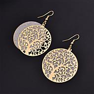 Dame Dråbeøreringe Mode Legering Smykker Guld Sort Sølv Kostume smykker