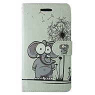 Capinha Para Samsung Galaxy S8 S7 Carteira Porta-Cartão Com Suporte Flip Corpo Inteiro Animal Desenho Animado dandelion Rígida Couro