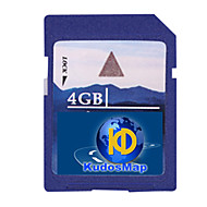 賞賛GPSナビゲーションマップ(4/8グラムSDカード、ひるみシステム用)