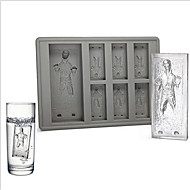 Ice Tray Han Solo In Carbonite Ice tray Silicone Jelly Chocolate Cake