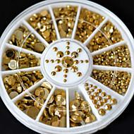 Biżuteria na paznokcie-Palec / Inny-List-Inny-6*6*1-1PC