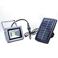 庭のバルコニー外回廊のための10ワット防水光制御、太陽エネルギーLEDライトランプ