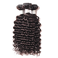 Emberi haj Brazil haj Az emberi haj sző Göndör Póthajak 4 darab Fekete