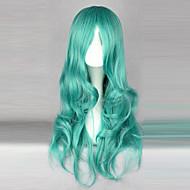 Cosplay Wigs Sailor Moon Sailor Neptune Zelena Medium Anime Cosplay Wigs 65 CM Otporna na toplinu vlakna Female