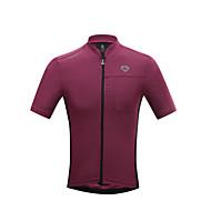 SANTIC Biciklistička majica Muškarci Kratkih rukava Bicikl T-majica Biciklistička majica Majice Odjeća za vožnju biciklom Quick dry