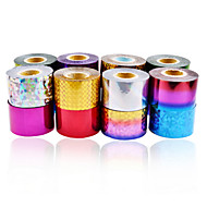 1roll Hot Selling Nail Art Foils 4cm*120m Nail Transfer Foil Paper UV Gel Polish DIY Nail Beauty Decoration Tools