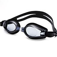 YUKE משקפי שחייה לנשים / לגברים / יוניסקס נגד ערפל / עמיד למים / גודל מתכוונן / אנטי-UV / לקוצר ראייה סיליקה ג'ל PC שחור / כחול שקוף