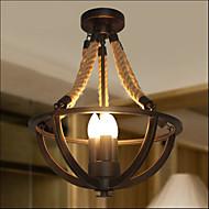 amerikansk soverom tak retro led tau enkel midtgangen lampe høy kvalitet