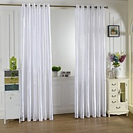 Purjerengas One Panel Window Hoito Kantri , Painettu Living Room Polyesteri materiaali verhot Drapes Kodinsisustus