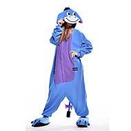 Kigurumi plišana pidžama Magarac Onesie pidžama Kostim Flis Plava Cosplay Za Odrasli Zivotinja Odjeća Za Apavanje Crtani film Noć vještica