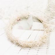 billiga Brudhuvudbonader-basketwork krans headpiece bröllopsfest elegant feminin stil