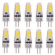 tanie Więcej Kupujesz, Więcej Oszczędzasz-YWXLIGHT® 10pcs 2W 200 lm G4 Żarówki LED bi-pin T 6 Diody lED SMD 5730 Dekoracyjna Ciepła biel Zimna biel DC 12V