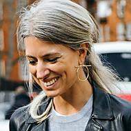 Women's Stud Earrings / Hoop Earrings - European, Fashion, Statement Silver / Golden For Party / Daily / Casual