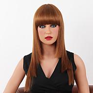 hoge kwaliteit capless lange rechte mono top menselijk haar pruiken 9 kleuren te kiezen