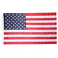 halpa -Uusi 90cmx150cm polyester usa yhdysvaltain lipun US Yhdysvallat tähdet raidat