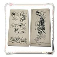 baratos Kits de Tatuagem para Iniciantes-BaseKey Máquina de tatuagem Kit de tatuagem profissional - 2 pcs máquinas de tatuagem, Profissional Fonte de Alimentação Analógica Capa