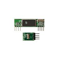 cheap -Geeetech Superheterodyne 3400 Wirelesss Receiver + 433MHz RF Transmitter Kit