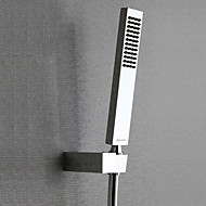 Contemporary Hand Shower Chrome Feature-Rainfall Eco-friendly , Shower Head