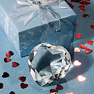 Crystal Heart Paperweight Favors