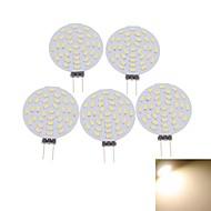 baratos Luzes LED de Dois Pinos-SENCART 5pçs 3 W 400-480 lm G4 Lâmpadas de Foco de LED MR11 36 Contas LED SMD 3014 Decorativa Branco Quente / Branco Frio 12 V / 5 pçs / RoHs